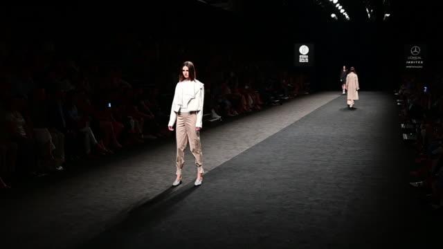 ESP: Roberto Torretta - Catwalk - Mercedes Benz Fashion Week Madrid Spring/Summer 2020