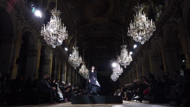 FRA: Yohji Yamamoto : Runway - Paris Fashion Week Womenswear Spring Summer 2021