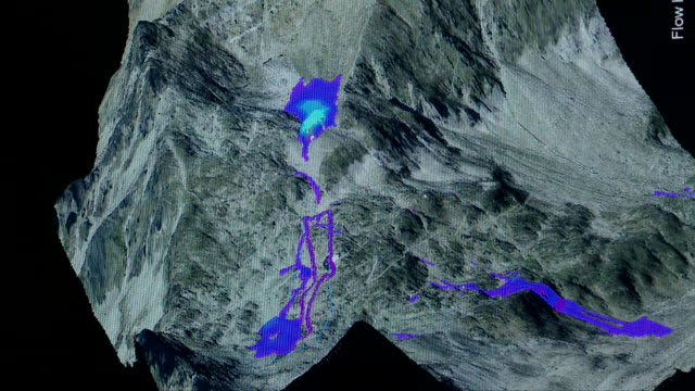 FLOW-3D Modeling of a Snow Avalanche