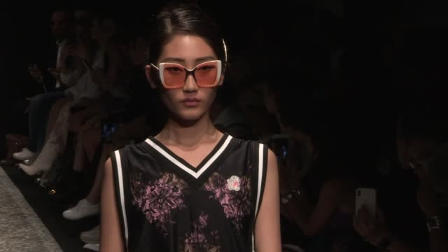 models and designer on the runway for the marco de vincenzo spring summer 2019 fashion show in milan milan italy on friday september 21 2018 - marco marco designer label stock videos and b-roll footage