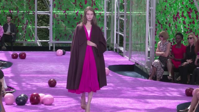 Models and designer Raf Simons on the runway for the Dior Haute Couture Fashion Show held at the Rodin Museum in Paris Also there to attend Anna...
