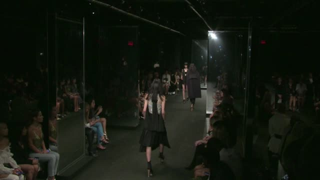 Models and designer Vera Wang on the runway for the Vera Wang Spring Summer 2016 Fashion Show in New York City Tuesday 15th September 2015 New York...