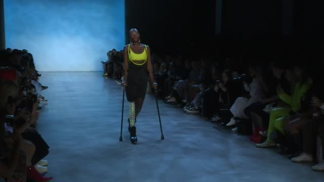 Models and designers on the runway of the Chromat Spring Summer 2019 Fashion Show in New York New York City NY USA on Friday September 7 2018