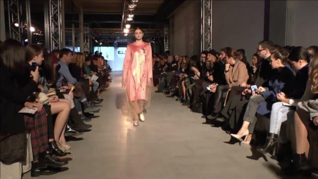 Models present creations by Georgian designers like Eloshi Tatiana MeparidzeGeorge Keburia Anka Nanitashvili Machamp Mach during the Spring/Summer...