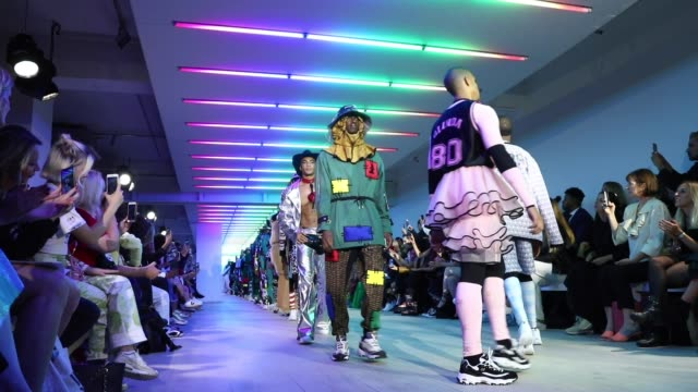 GBR: Bobby Abley - Runway - LFW September 2019
