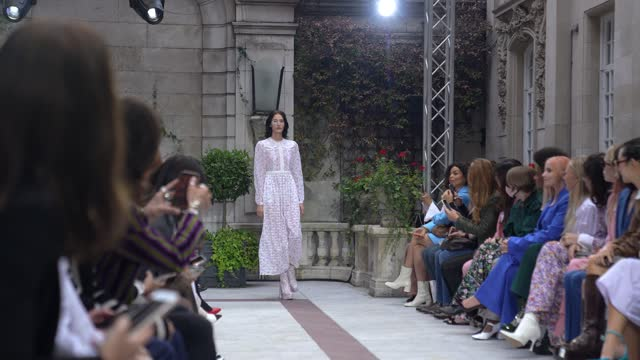 models walk the runway at the paul & joe show during london fashion week september 2021 on september 20, 2021 in london, england. - 4k resolution stock videos & royalty-free footage