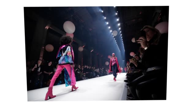 berlin germany january 15 models walk the runway at the sportalm show during berlin fashion week autumn/winter 2020 at kraftwerk mitte on january 15... - gif stock videos and b-roll footage