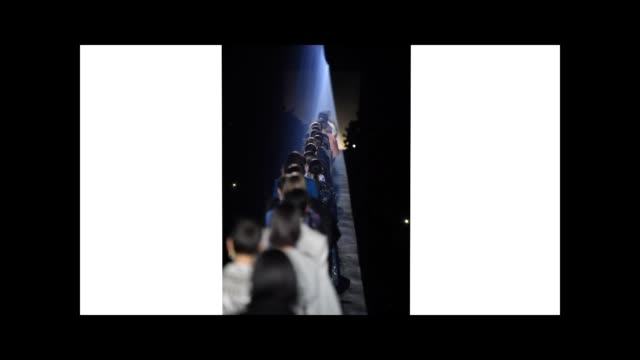 stockvideo's en b-roll-footage met models walk the runway during the finale of the givenchy show as part of the paris fashion week womenswear fall/winter 2019/2020 on march 03 2019 in... - dameskleding