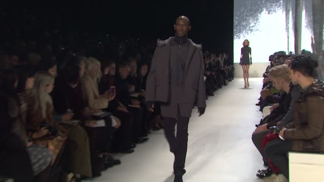 models walk the runway wearing lacoste fall 2012 collection during mercedes-benz fashion week fall 2012 on in new york, ny. - fashion collection stock videos & royalty-free footage