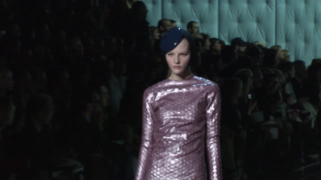 Models walk the runway wearing Marc Jacobs Fall 2011 collection during MercedesBenz Fashion Week Fall 2011