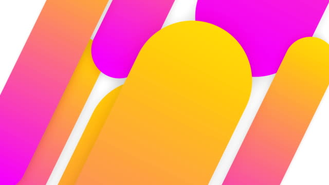4k modern abstract background gradient shapes composition. - poster template stock videos & royalty-free footage
