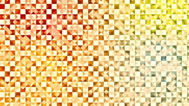 Dreiecke moderne abstrakte Mosaik-Loop