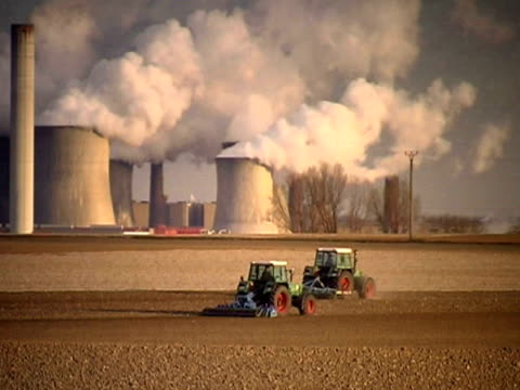 modern agriculture pal - air pollution stock videos and b-roll footage