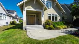 Modern American Suburban Home Exterior