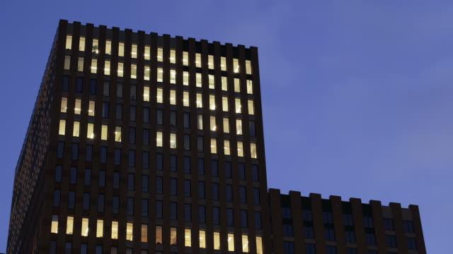 Modern architecture at Amsterdam Zuidas business district