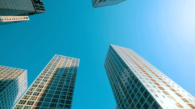 Modern Architecture,Looking Up View