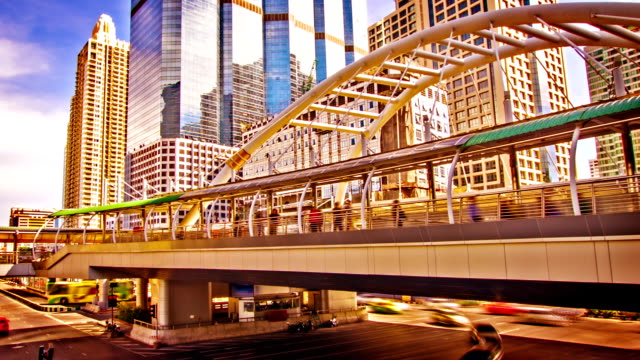 modern bangkok architecture - community college stock videos & royalty-free footage