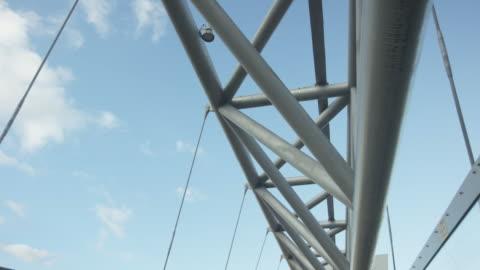 modern bridge in oslo, norway - bridge built structure stock videos & royalty-free footage