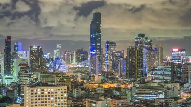 Modernes Gebäude in der Stadt Bangkok, Thailand