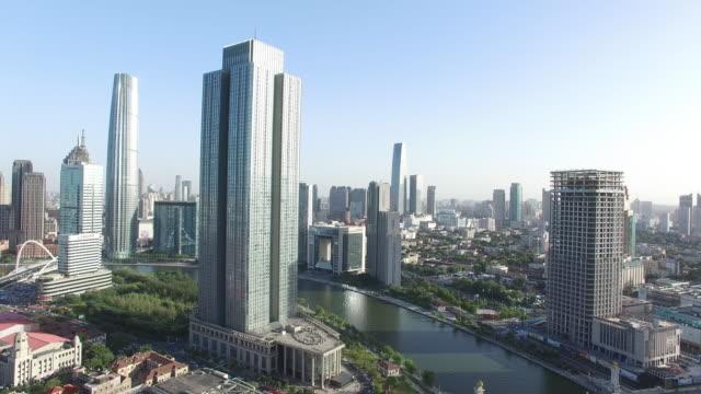 moderne gebouwen in midtown van moderne stad