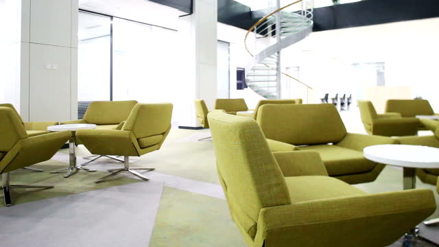 modern business office interior,timelapse. - lobby stock videos & royalty-free footage