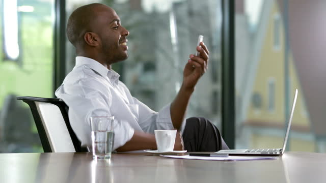 ms modern businessman having a video call - video conference stock videos & royalty-free footage