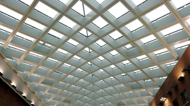 modern ceiling - solid stock videos & royalty-free footage
