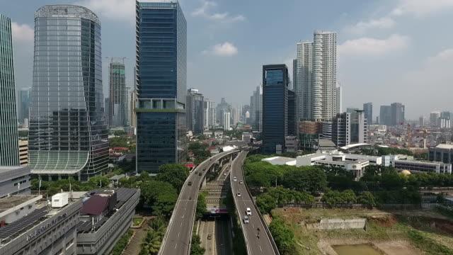 modern city of jakarta - jakarta stock videos & royalty-free footage