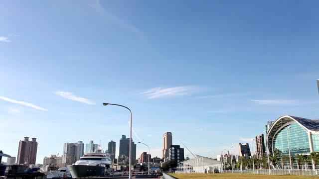 vídeos y material grabado en eventos de stock de la ciudad moderna - taipei 101