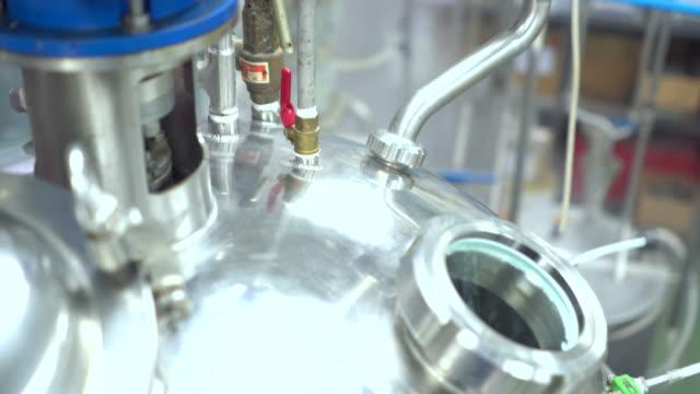 vídeos y material grabado en eventos de stock de complejo industrial moderna tecnología equipo - manguera