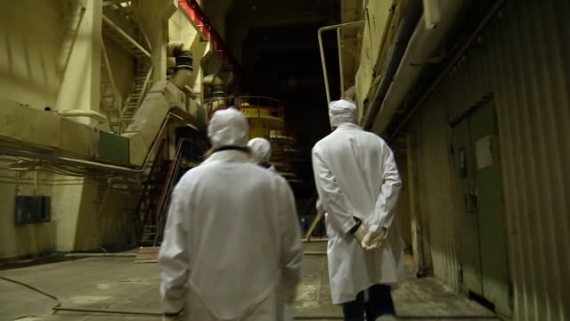 modern day chernobyl npp interior - nuclear power station stock videos & royalty-free footage