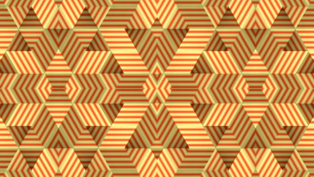 modern digital seamless animation of striped pattern with multicolored geometric lines.3d rendering animation. 4k, ultra hd resolution - optical illusion stock videos & royalty-free footage