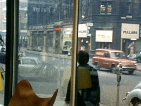 vídeos y material grabado en eventos de stock de modern furniture is displayed in a shop window - mesa baja de salón