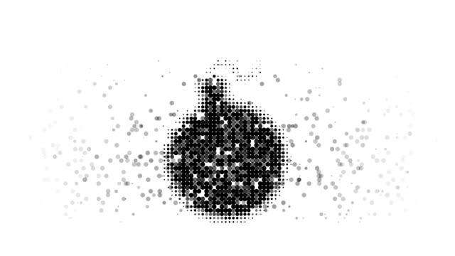 Bomba: moderno estilo'halftone'(LOOP)