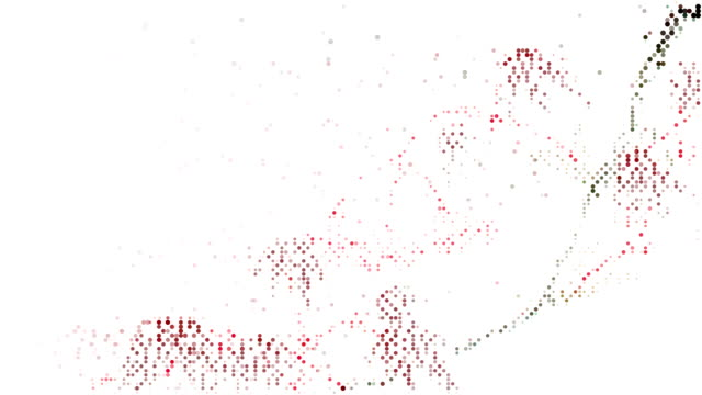 RED MAPLE : modern halftone style (TRANSITION)