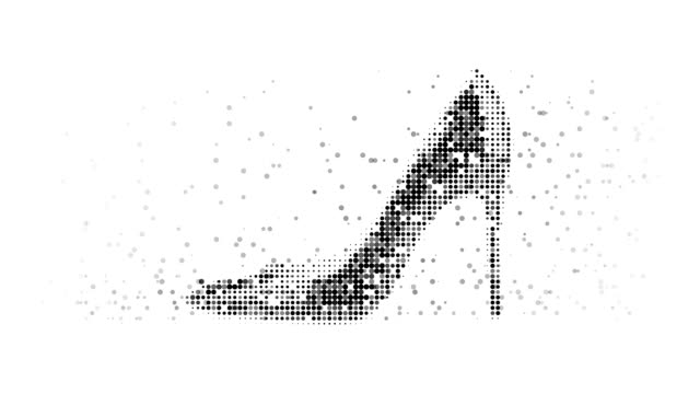 STILETTO : modern halftone style (LOOP)