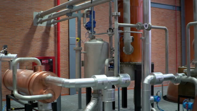 modern industrial plant - boiler stock videos & royalty-free footage