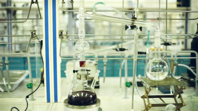 Modern laboratory equipment