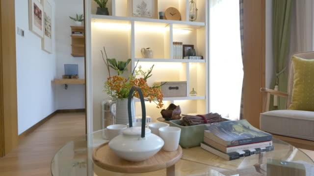 Modernen Wohnzimmer interior 4 K