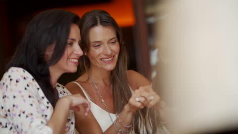 modern mature women taking selfie - female friendship stock videos & royalty-free footage
