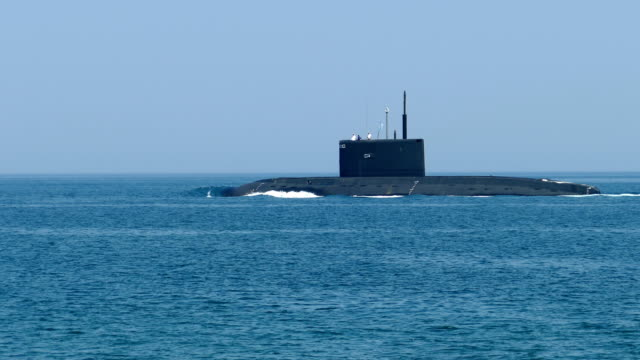 modern missile submarine - navy stock videos & royalty-free footage
