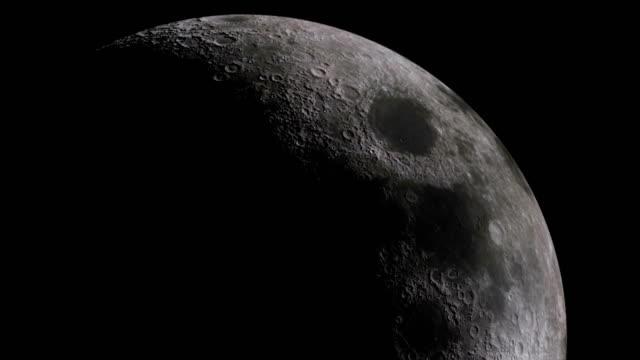 modern moon - 4k resolution - supermoon stock videos & royalty-free footage