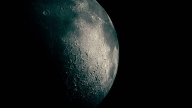 modern moon - orbiting stock videos & royalty-free footage
