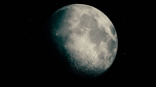 modern moon - moon stock videos & royalty-free footage