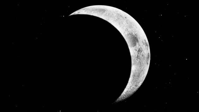 modern moon with eclipse - moon stock videos & royalty-free footage