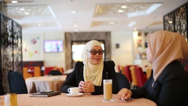 modern muslim women - malaysia stock videos & royalty-free footage