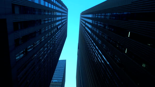 modern office buildings - generic location stock videos & royalty-free footage