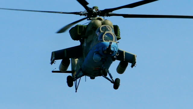 modern powerful military helicopter (slow motion) - army stock videos & royalty-free footage