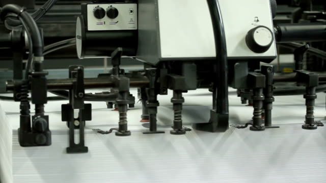 modern printing shop - old newspaper stock videos and b-roll footage