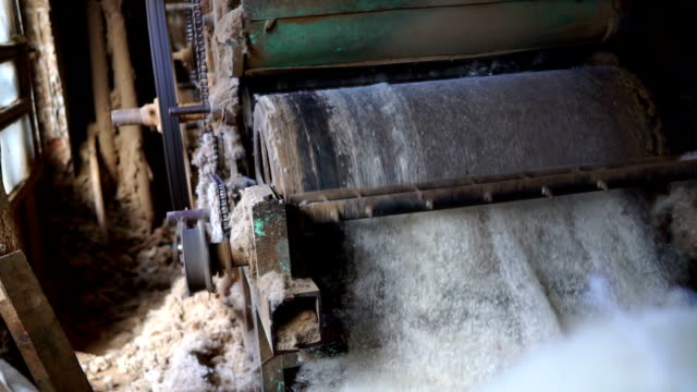modern silk machine with sheep wool - thread stock videos & royalty-free footage